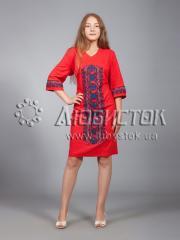 Вышитое платье ЖПВ 15-5