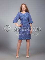 Вышитое платье ЖПВ 16-1