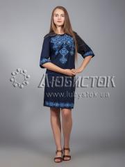 Вышитое платье ЖПВ 16-2