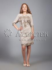 Вышитое платье ЖПВ 16-3