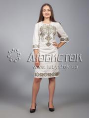 Вышитое платье ЖПВ 16-4