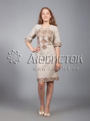 Вышитое платье ЖПВ 16-5