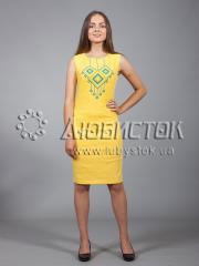 Вышитое платье ЖПВ 17-1