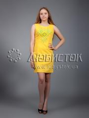 Вышитое платье ЖПВ 17-3
