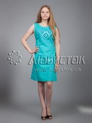 Вышитое платье ЖПВ 17-6