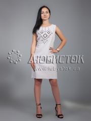 Вышитое платье ЖПВ 17-7