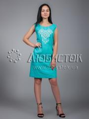 Вышитое платье ЖПВ 17-8