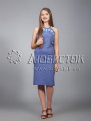 Вышитое платье ЖПВ 18-1