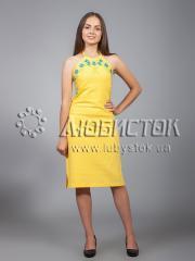 Вышитое платье ЖПВ 18-3