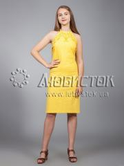 Вышитое платье ЖПВ 18-4