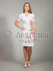 Вышитое платье ЖПВ 20-1