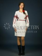 Вышитое платье ЖПВ 2-1