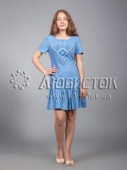 Вышитое платье ЖПВ 21-1