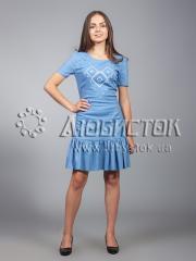 Вышитое платье ЖПВ 21-2