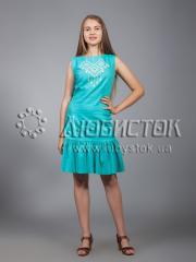 Вышитое платье ЖПВ 21-3