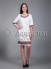 Вышитое платье ЖПВ 22-1