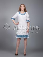 Вышитое платье ЖПВ 22-2