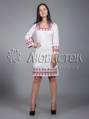 Вышитое платье ЖПВ 23-1