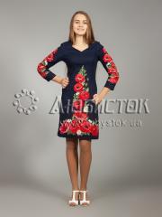 Вышитое платье ЖПВ 24-1