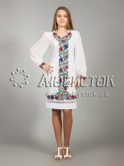 Вышитое платье ЖПВ 25-1