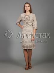 Вышитое платье ЖПВ 26-2