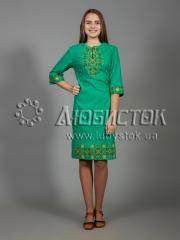 Вышитое платье ЖПВ 26-3