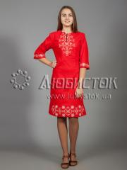 Вышитое платье ЖПВ 26-4