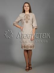 Вышитое платье ЖПВ 26-5