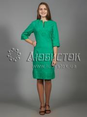 Вышитое платье ЖПВ 26-6