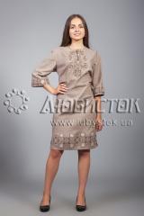 Вышитое платье ЖПВ 26-7