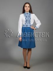 Вышитое платье ЖПВ 27-1