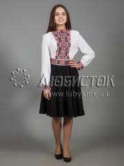 Вышитое платье ЖПВ 30-1