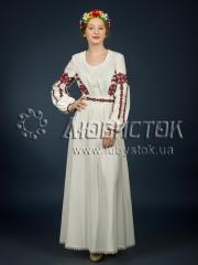 Вышитое платье ЖПВ 3-1