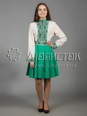Вышитое платье ЖПВ 31-1
