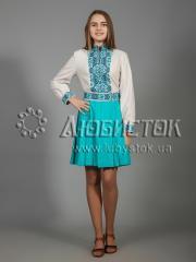 Вышитое платье ЖПВ 31-2