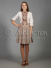 Вышитое платье ЖПВ 33-1