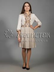 Вышитое платье ЖПВ 33-2