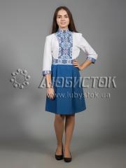 Вышитое платье ЖПВ 34-1