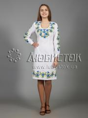 Вышитое платье ЖПВ 36-1