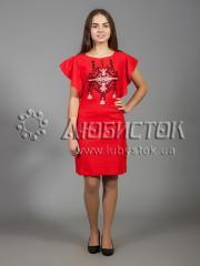 Вышитое платье ЖПВ 37-1