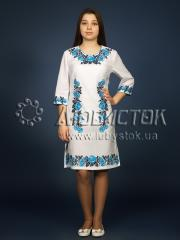 Вышитое платье ЖПВ 4-2
