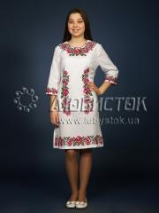 Вышитое платье ЖПВ 4-3