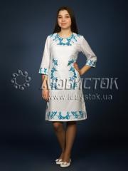 Вышитое платье ЖПВ 4-5