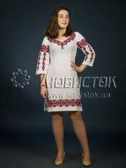 Вышитое платье ЖПВ 5-1