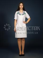 Вышитое платье ЖПВ 7-1