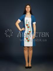 Вышитое платье ЖПВ 8-1