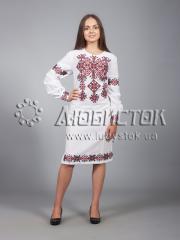 Вышитое платье ЖПВ 9-1