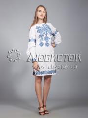 Вышитое платье ЖПВ 9-2