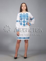 Вышитое платье ЖПВ 9-3