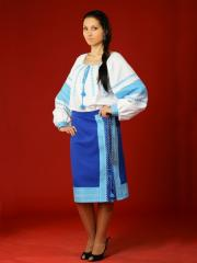 Вышитый женский костюм ЖК 12